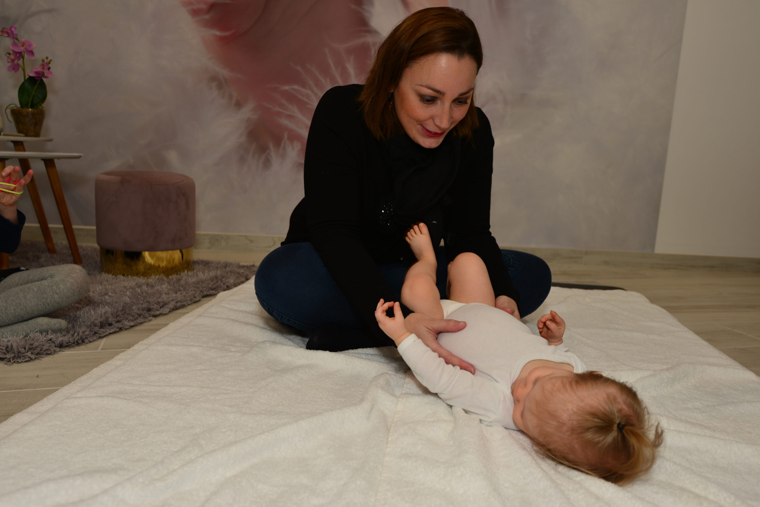 mon premier yoga bébé